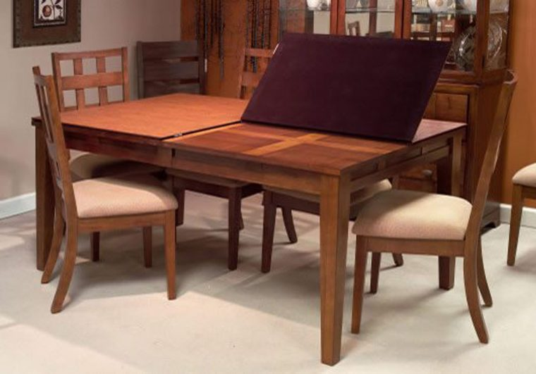 wooden dining table cover pad