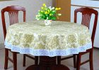 120 inch round vinyl tablecloth tablecloths lace thanksgiving tablecloths
