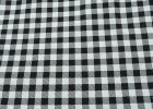 Black And White Checkered Table Cover Tablecloth Disposable