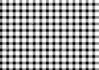 Black And White Checkered Table Cover Tablecloth NZ