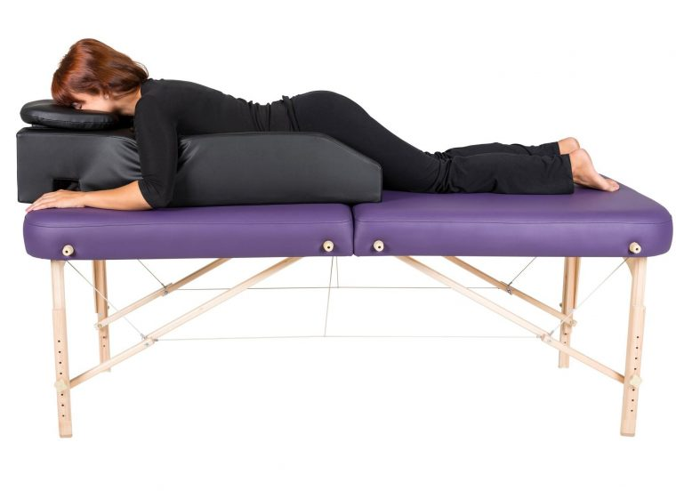 Black Cradle Face Covers For Massage Tables