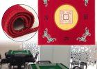 Bridge Table Covers Sale Red Velvet