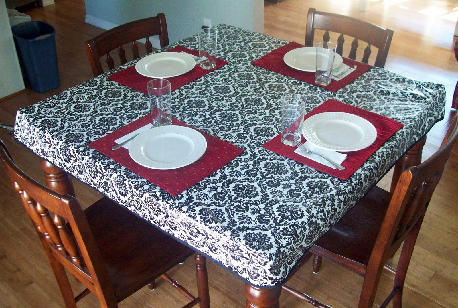 Buy Square Fitted Card Table Covers