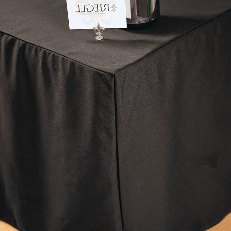 Cheap Black Fitted Rectangular Vinyl Table Covers