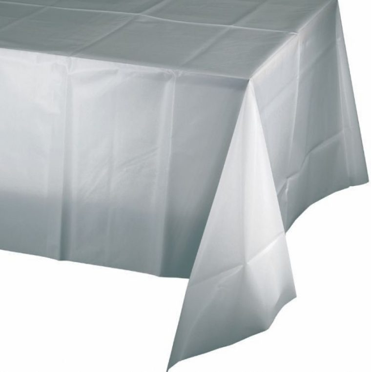 Cheap Gray Plastic Table Covers