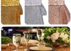 Cheap Table Covers For Parties Engagement Party
