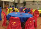 Cheap Table Covers For Parties Engagement Party Decor
