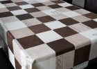 Chocolate Brown Plastic Table Covers