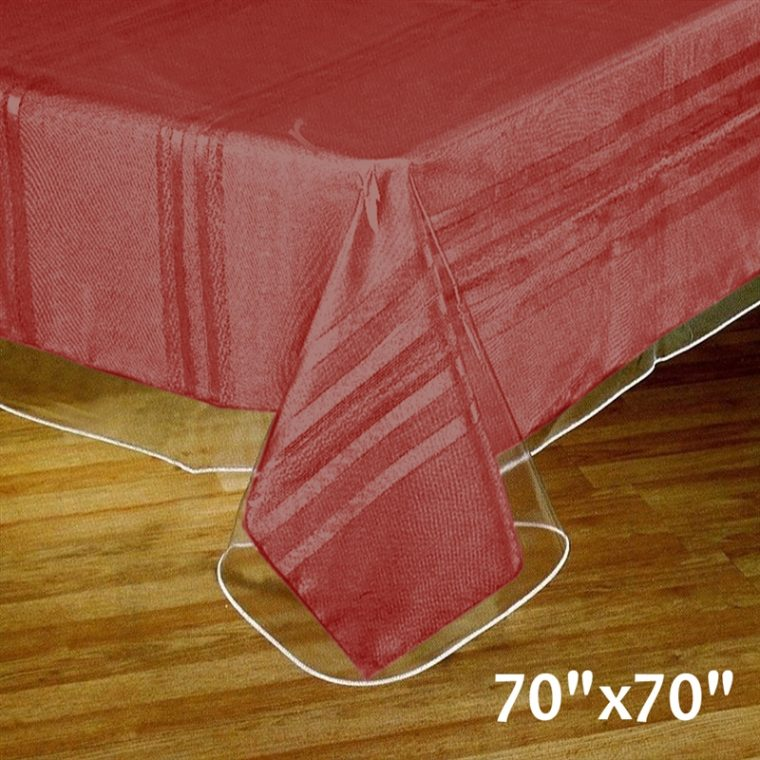 Clear Vinyl Table Covers