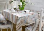 Cool Table Covers Wooden White Dining Table