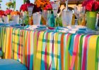 Cool Table Covers for DIY Outdoor Party Table