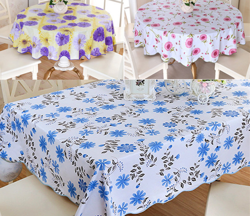 Fitted Rectangular Vinyl Table Cover