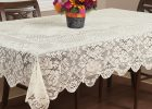 Fitted Rectangular Vinyl Table Covers Dining Table