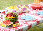 Fitted Rectangular Vinyl Table Covers for Picnic Table