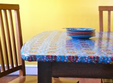 Fitted Vinyl Table Covers Rectangle
