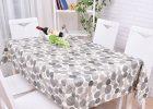 Gray Plastic Table Covers Polcadot