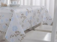 Gray Plastic Table Covers for Chic Dining Table