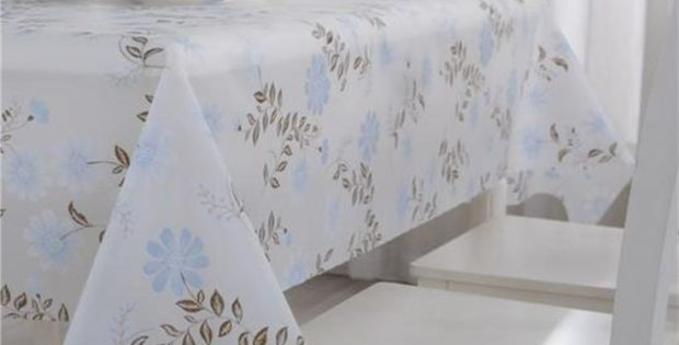 Gray Plastic Table Covers for Party