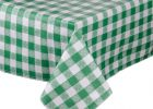 Green Fitted Vinyl Picnic Table Covers