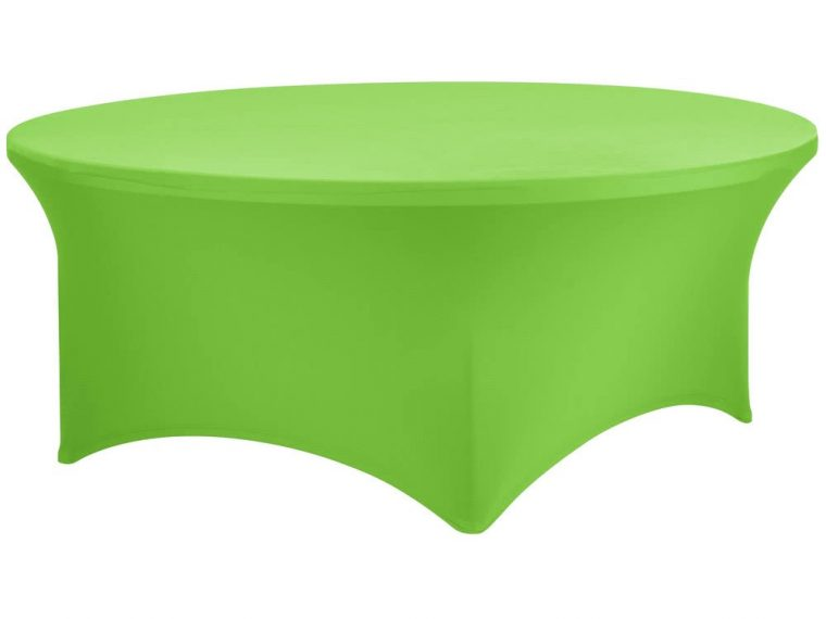 Green Spandex Covers For Tables
