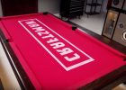 Hard Pool Table Covers Plastic Surface UK