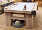 Hard Pool Table Covers Wood Frame UK