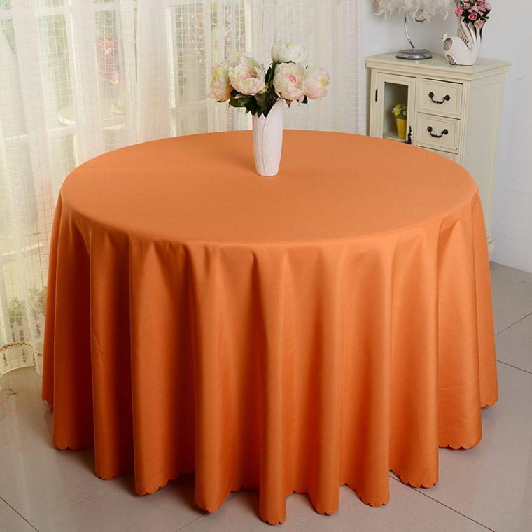 Marko Table Covers Orange Round