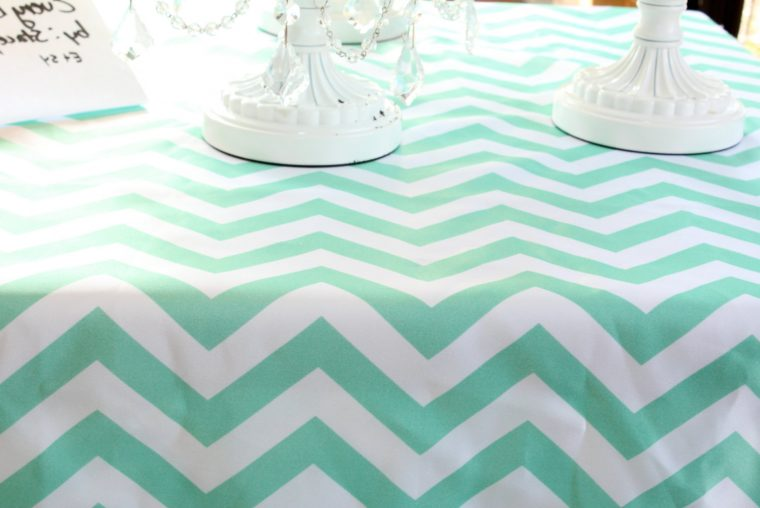 Mint Green Plastic Table Cover Linen Hire