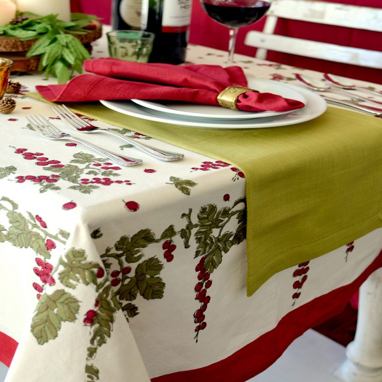 Oval Christmas Tablecloths -Modern Christmas Tablecloth-christmas table linen