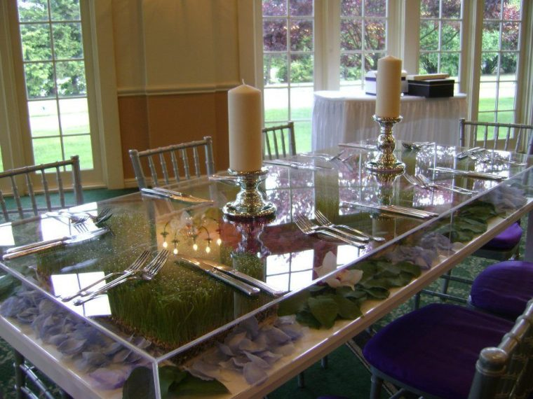 Plexiglass Table Top Covers for Modern Dining Table