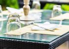 Plexiglass Table Top Covers for Outdoor
