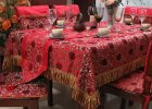 Presentation Table Covers Ideas