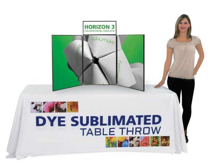 Presentation Table Covers Trade Show Printed Logo
