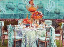 Presentation Table Covers for Outdoor Party