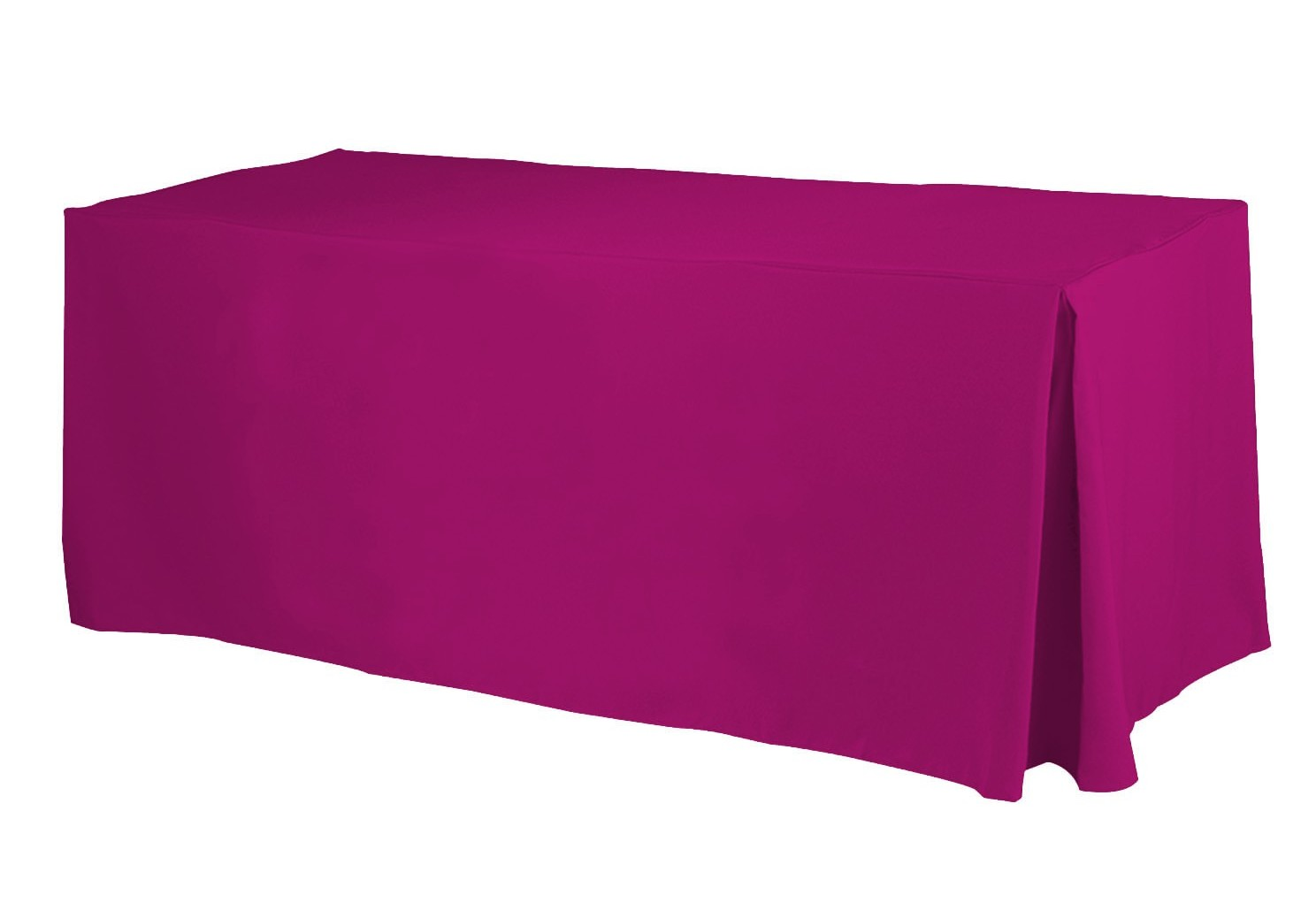 Purple Fitted Rectangular Vinyl Table Covers
