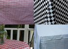 Round Plastic Table Covers With Elastic Edges
