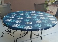 Round Vinyl Table Covers With Elastic UK