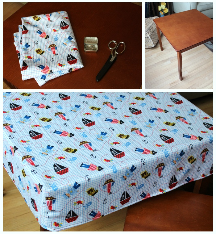 Small Fitted Rectangular Vinyl Table Covers