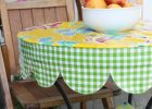 Small Fitted Vinyl Table Covers Round