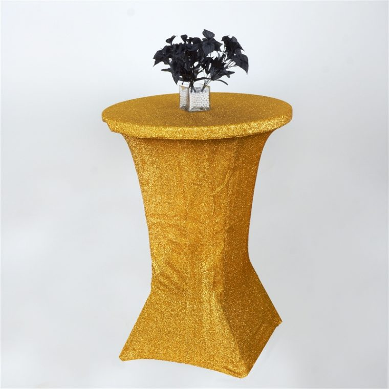 Spandex Bar Table Covers Cocktail Table