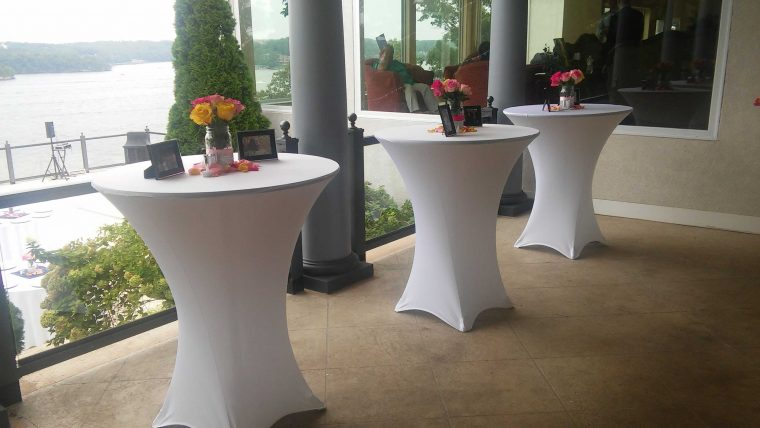 Spandex Bar Table Covers Wholesale