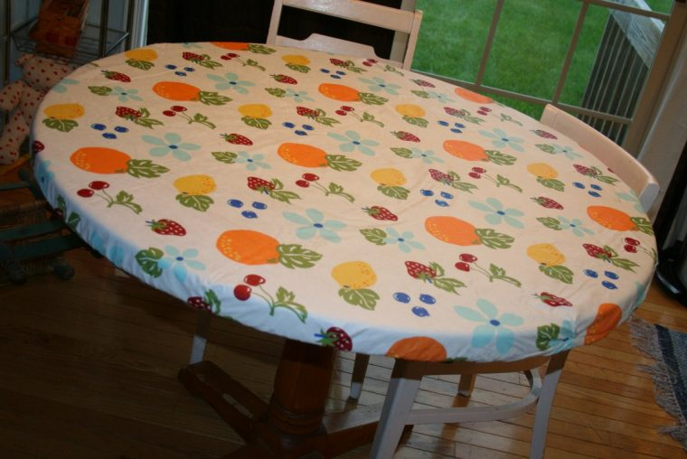 Round Vinyl Table Covers With Elastic Sesigncorp