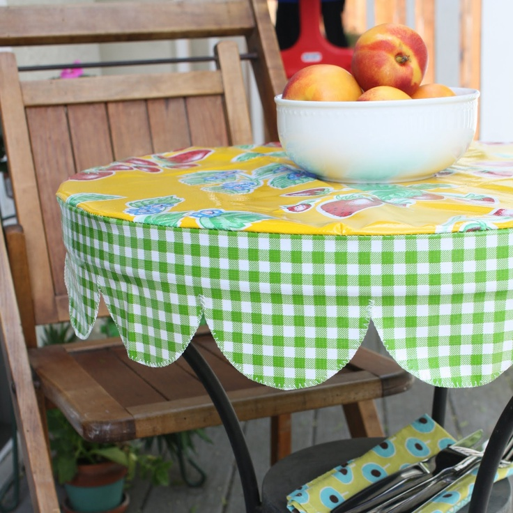 Vinyl Table Covers With Elastic Round Tablecloth Pictures Edge
