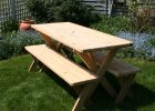 Wood Pattern Fitted Vinyl Picnic Table Covers