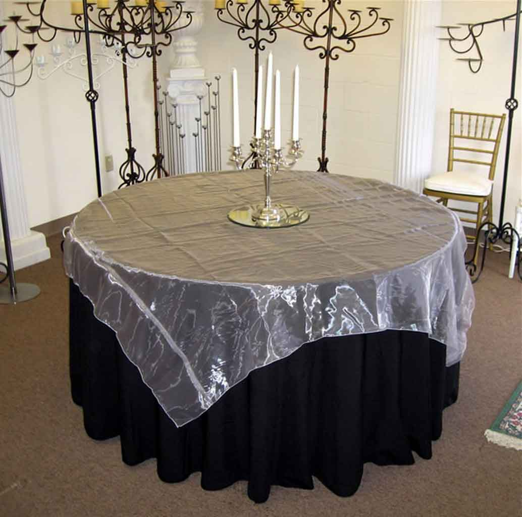 4 Black Wedding Tablecloth Inspiration for a Modern and Chic Wedlock Ceremony Theme   Table Covers Depot