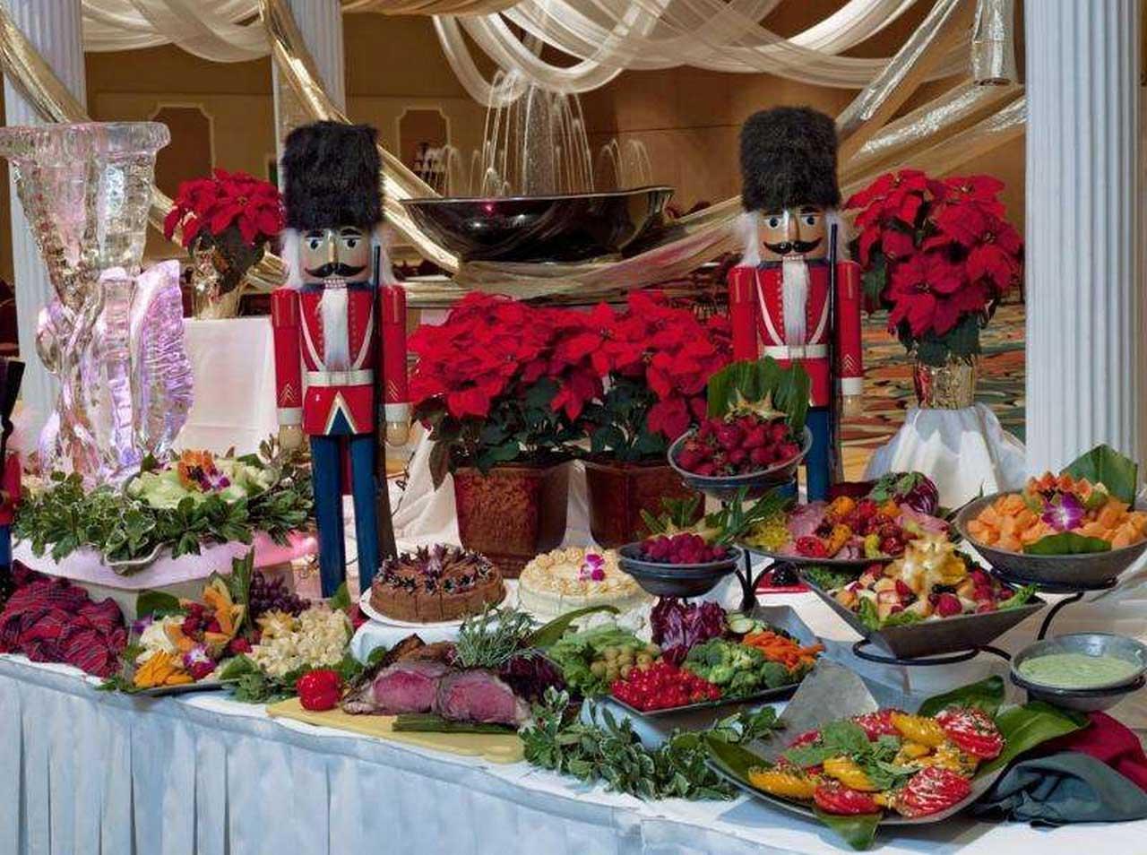 Buffet Table Decorating Ideas Food Display