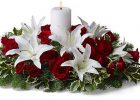 christmas flowers christmas table decoration ideas christmas centerpiece floral arrangements