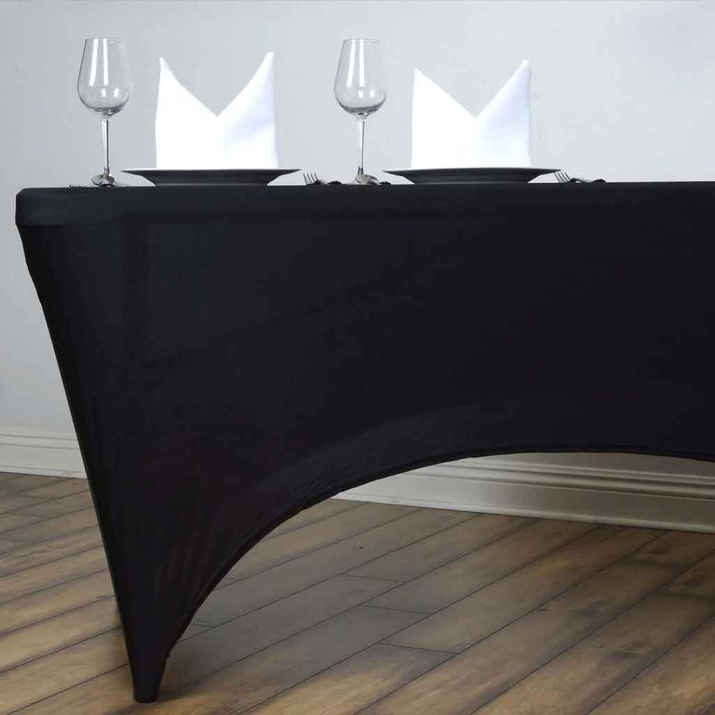 5 Types Of Spandex Caps Recommendation For Custom Elastic Table Covers | Table Covers Depot