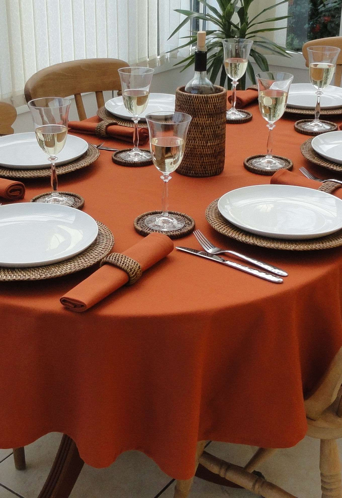 Use These Tablecloth Sizes for Oval Tables | Table Covers Depot