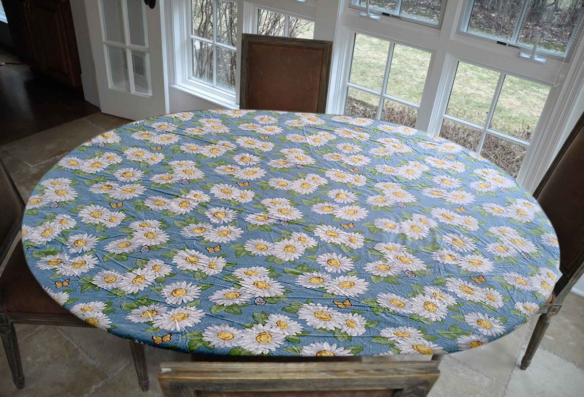 A Guideline To Make An Oval Elastic Table Cloth   Table Covers Depot